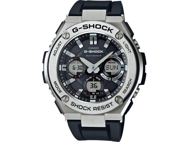 CASIO G-SHOCK GST-W110-1AER Zegarek Mężczyźni, black silver/white black